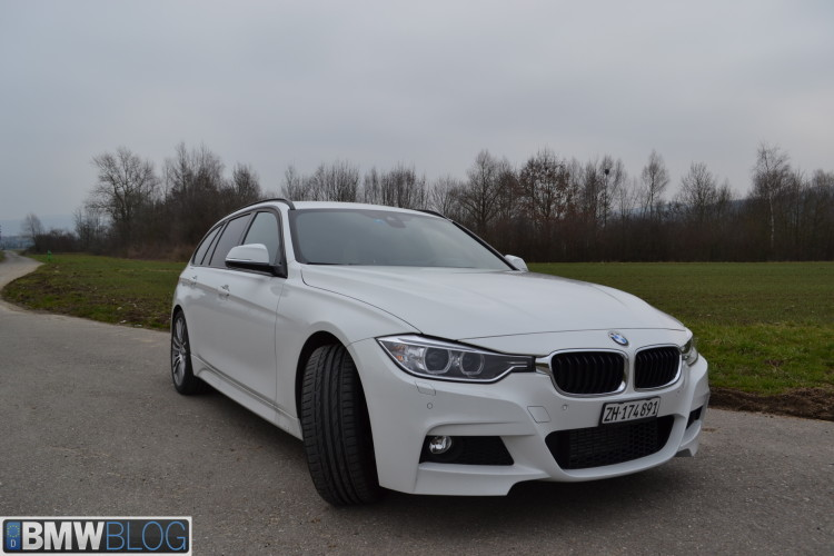 Bmw 330d Touring With M Sport Package Test Drive