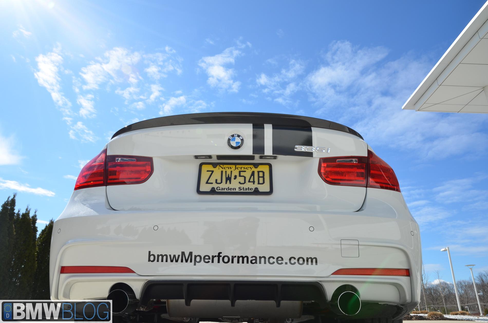 2012 BMW 335i M Performance Parts - Photos
