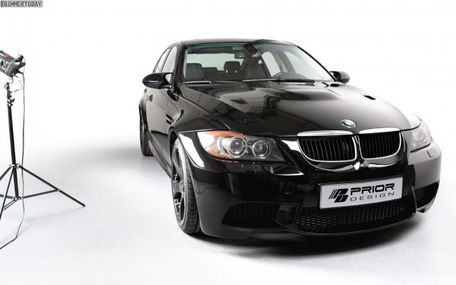 BMW 3er E90 Widebody Kit Prior Design 12 655x409
