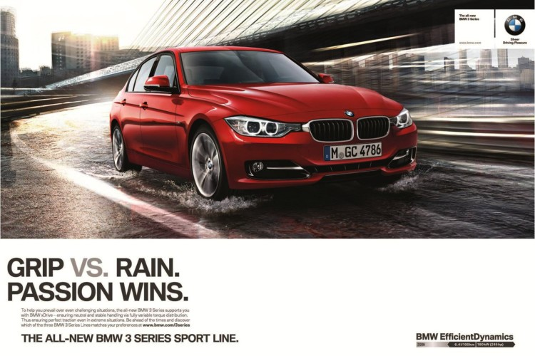 Video Ad Bmw Promoting The New 3 Series Xdrive