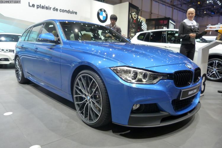 BMW 3er Touring F31 330d M Performance Autosalon Genf 2013 LIVE 01 750x500