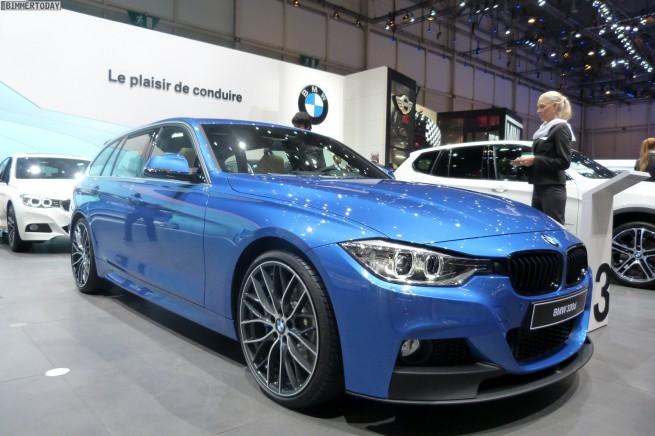 BMW 3er Touring F31 330d M Performance Autosalon Genf 2013 LIVE 02 655x436