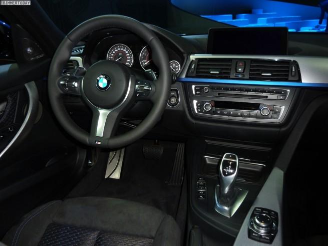 BMW 3er Touring F31 M Sportpaket 330d 2012 Innenraum 14 655x491