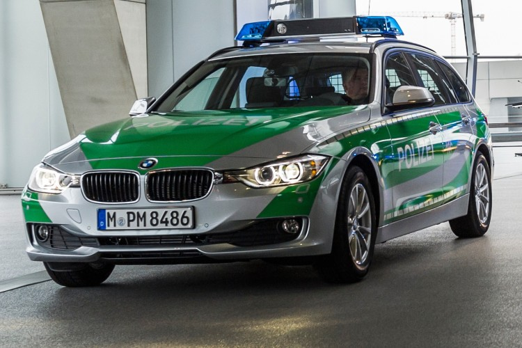 German Police Aren T Fans Of The F30 Bmw 3 Series
