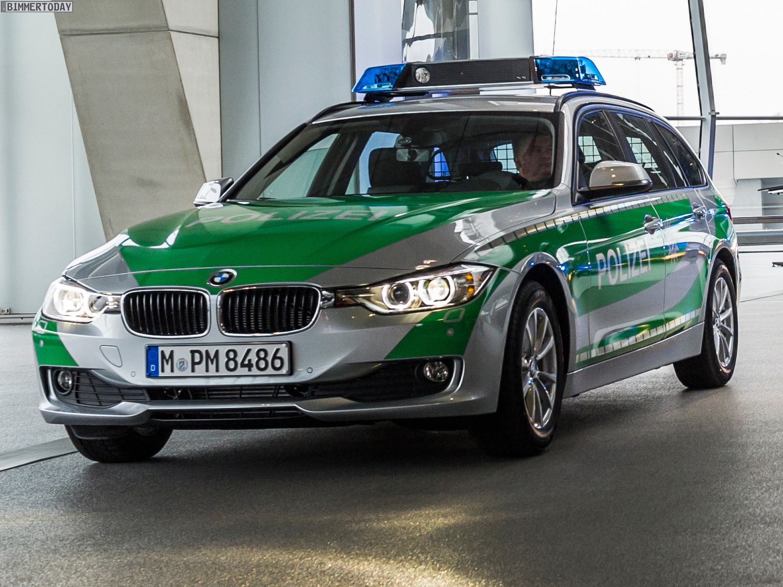 Bmw Delivers 3 Series Touring And X3 Police Cars To Bavaria