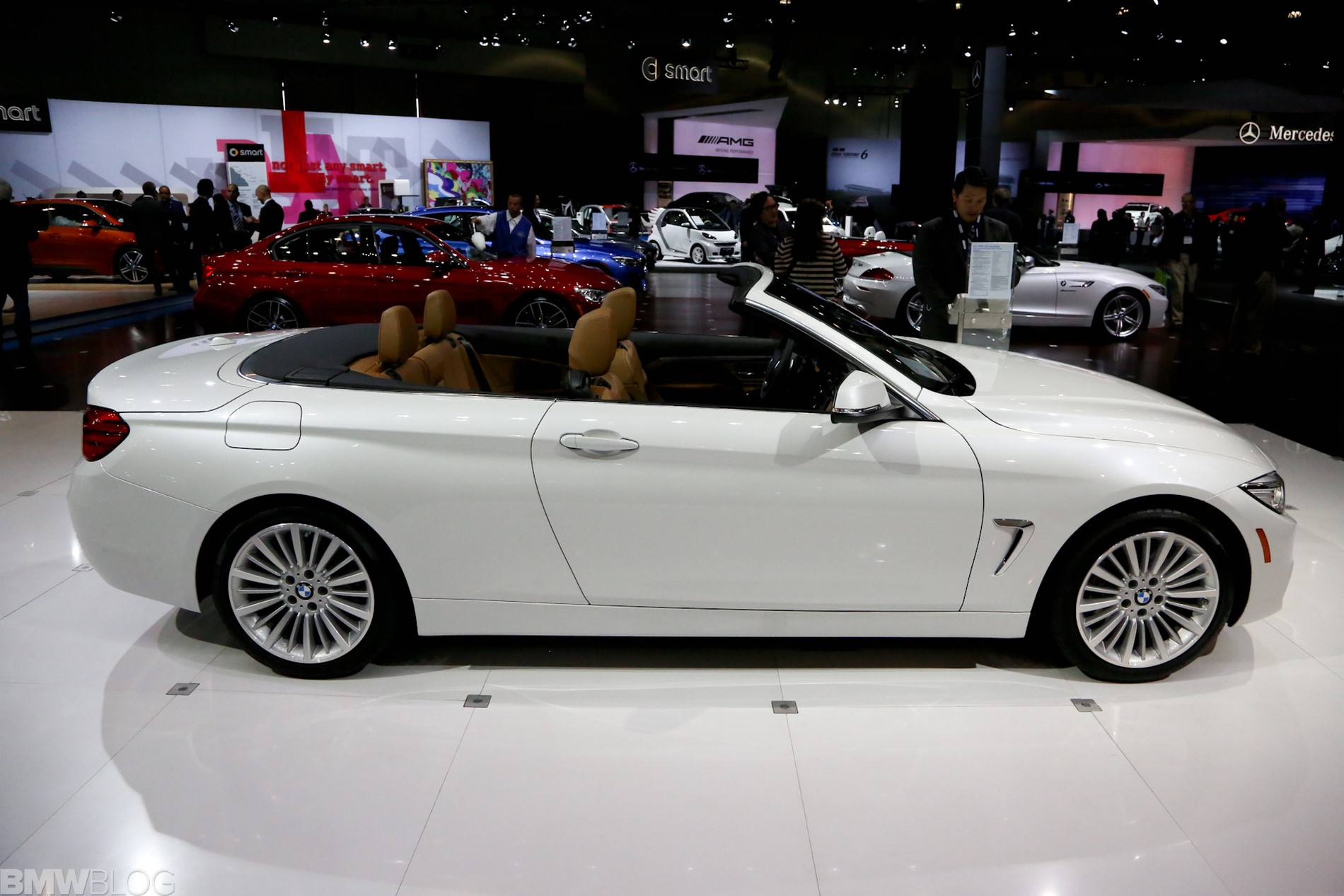 Bmw 4 Series Convertible At 2013 La Auto Show Video Amp Photos