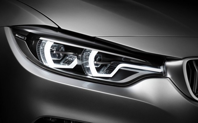 BMW 4 Series Coupe concept headlight 655x409