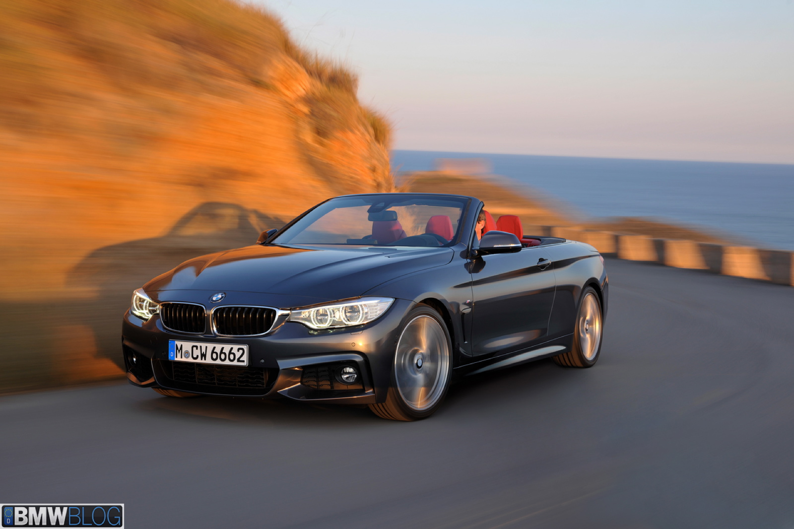 Bmw 435i Cabrio M Sport Package In Mineral Grey