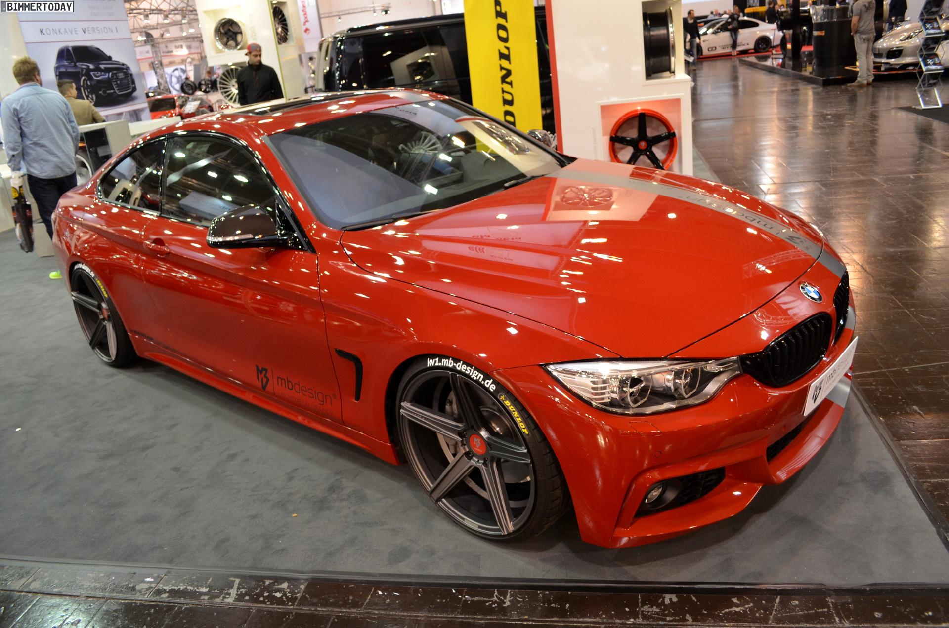 2013 Essen Motor Show Mb Design Tunes Up The Bmw 4 Series