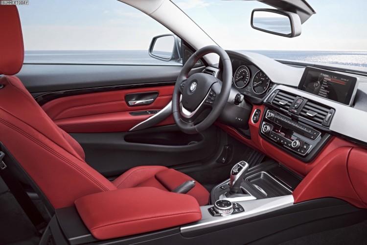 BMW 4er F32 Interieur Sport Line Innenraum IAA 2013 02 750x500