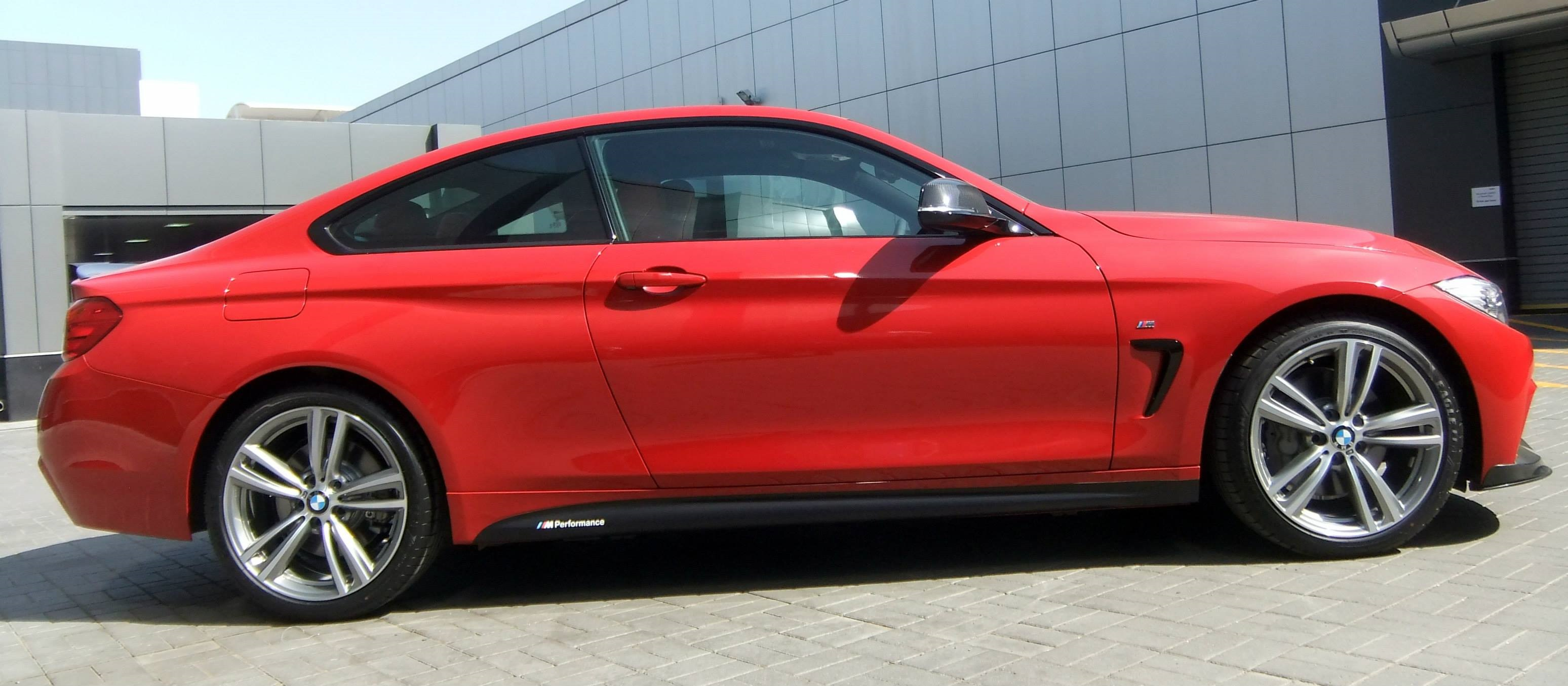 Bmw Er F Tuning M Performance Zubehoer I Coupe Rot