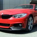 BMW 4er F32 Tuning M Performance Zubehoer 435i Coupe rot 02 120x120