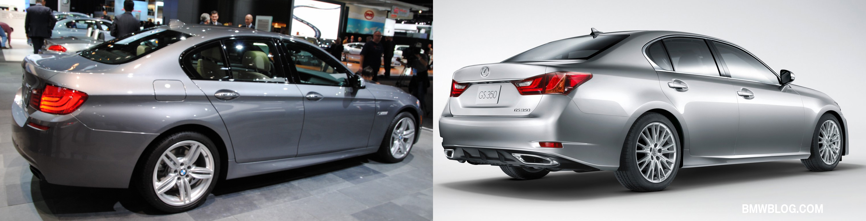 2013 lexus gs 350 vs bmw 535i