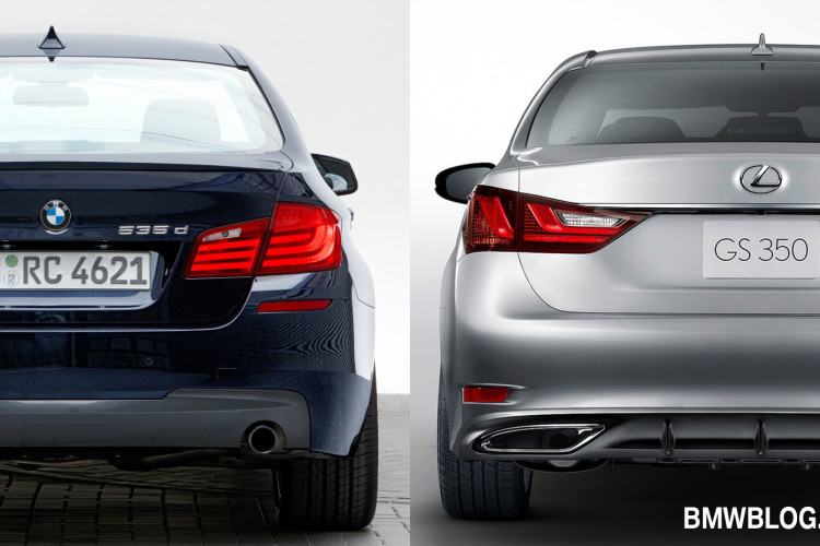 BMW 5 SERIES VS LEXUS GS 350 PHOTO 750x500