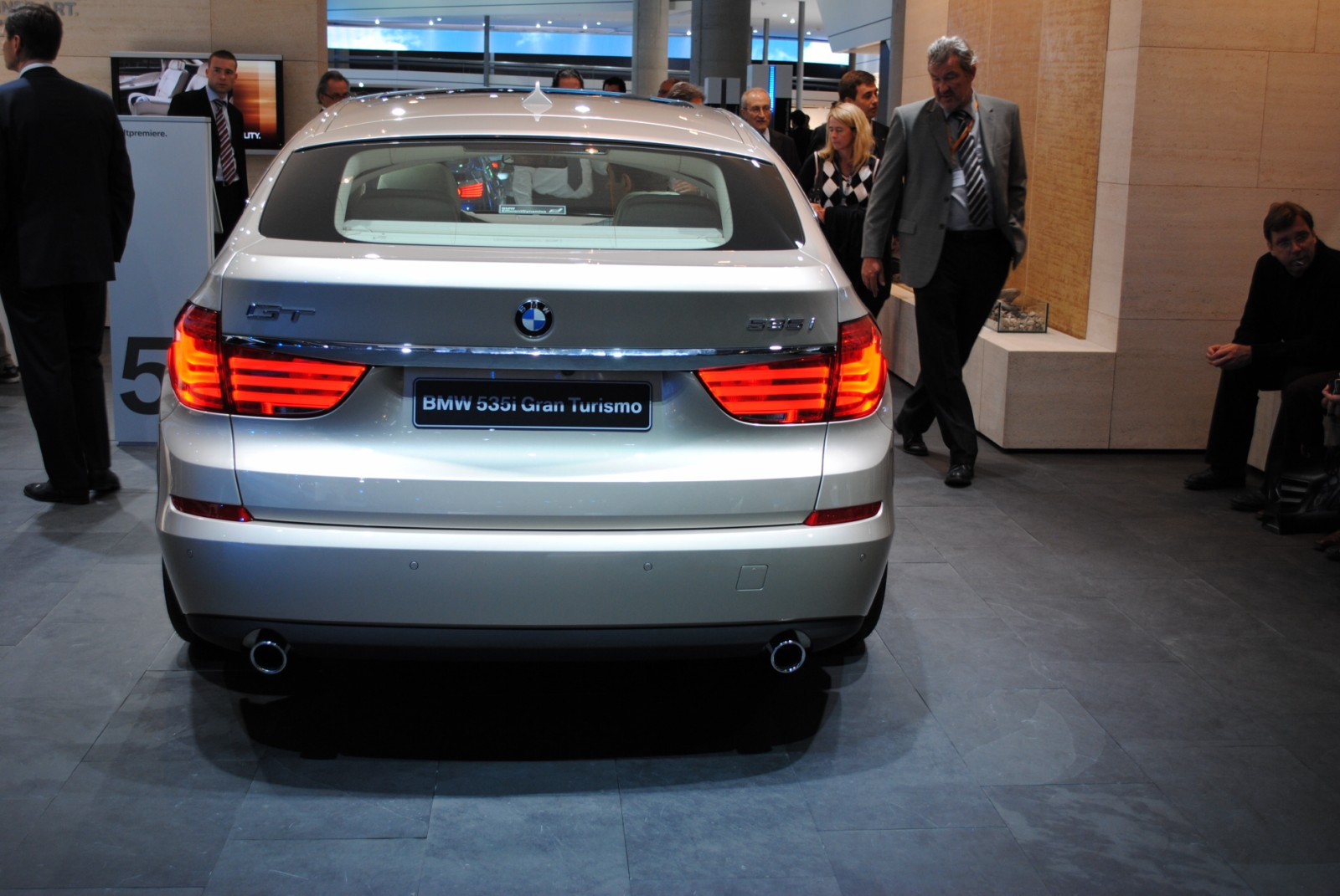 BMW 5 Series GT frankfurt 331