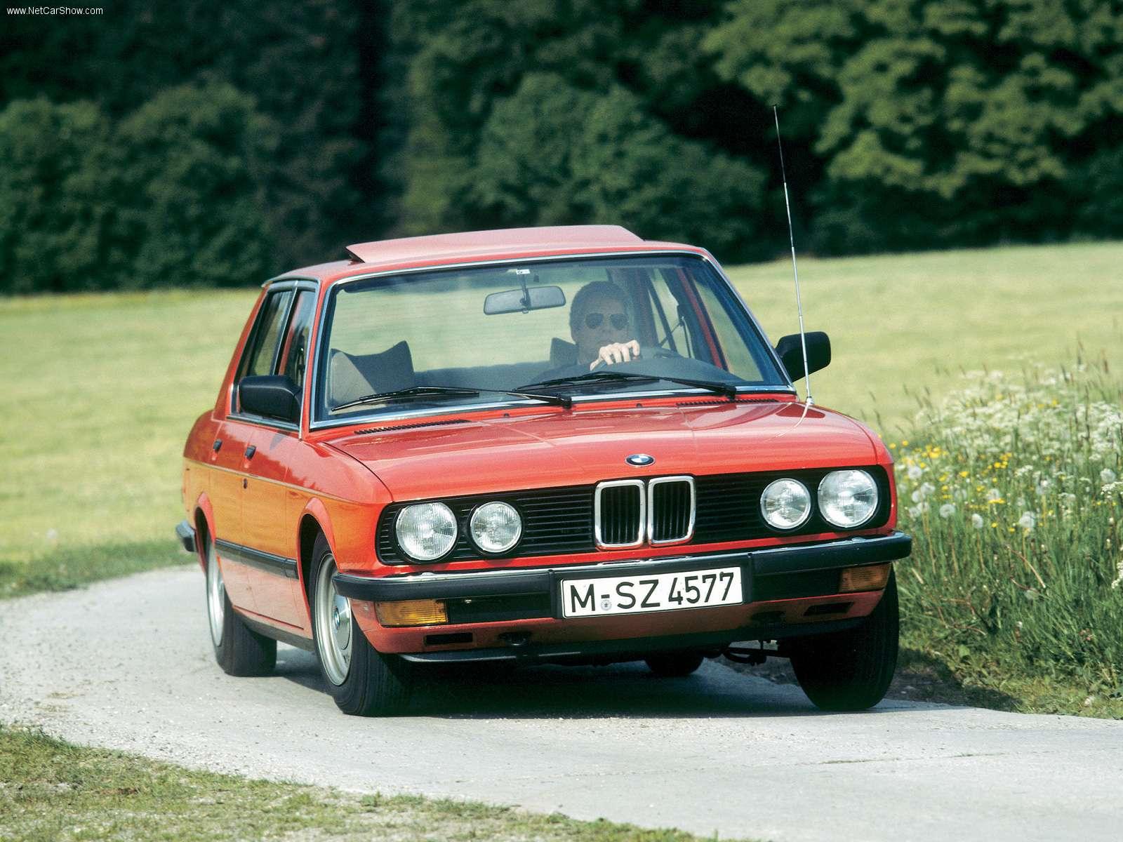 BMW 524td 1983 1600x1200 wallpaper 01
