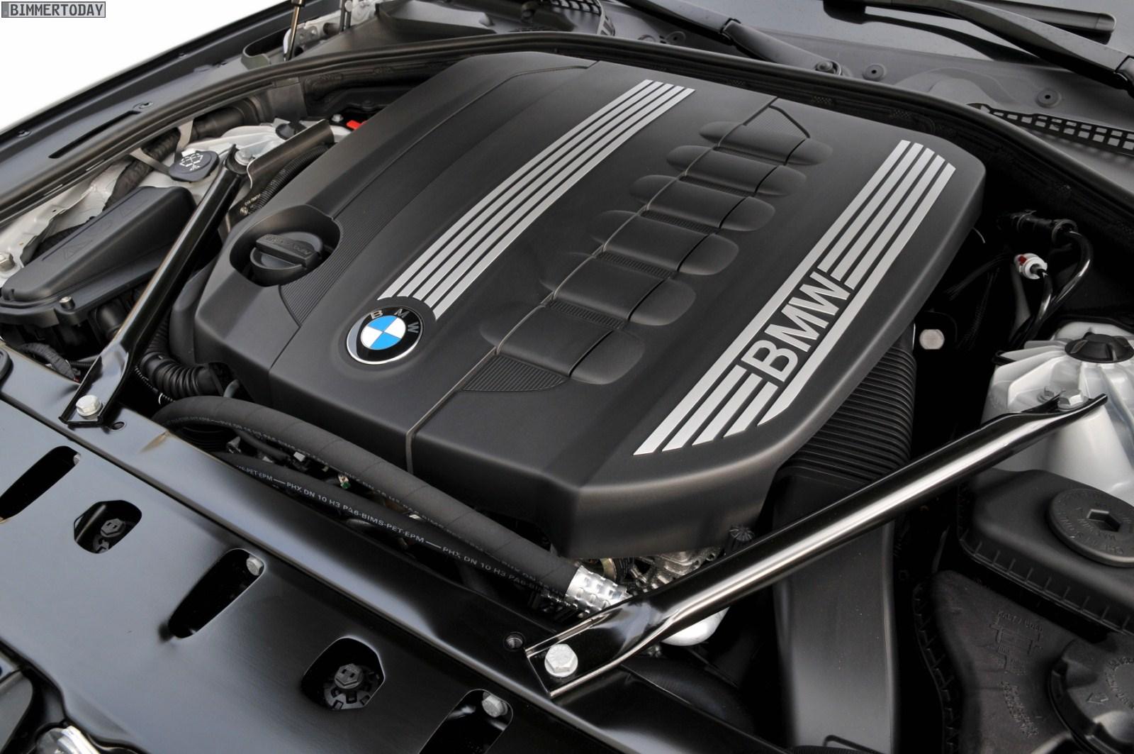 BMW 530d F10 Motorraum