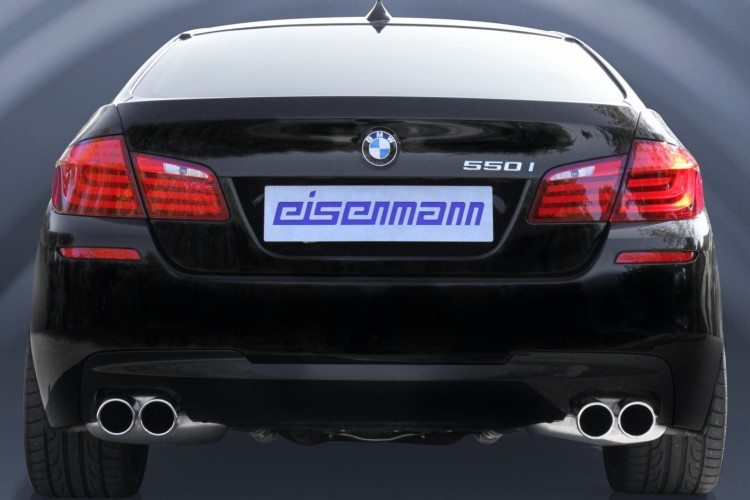 BMW 550i F10 Eisenmann Endschalldaempfer 750x500