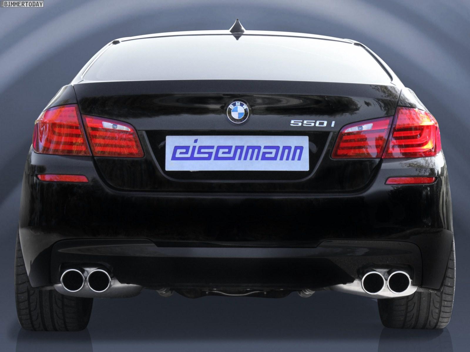 eisenmann exhaust system for bmw 550i. Black Bedroom Furniture Sets. Home Design Ideas