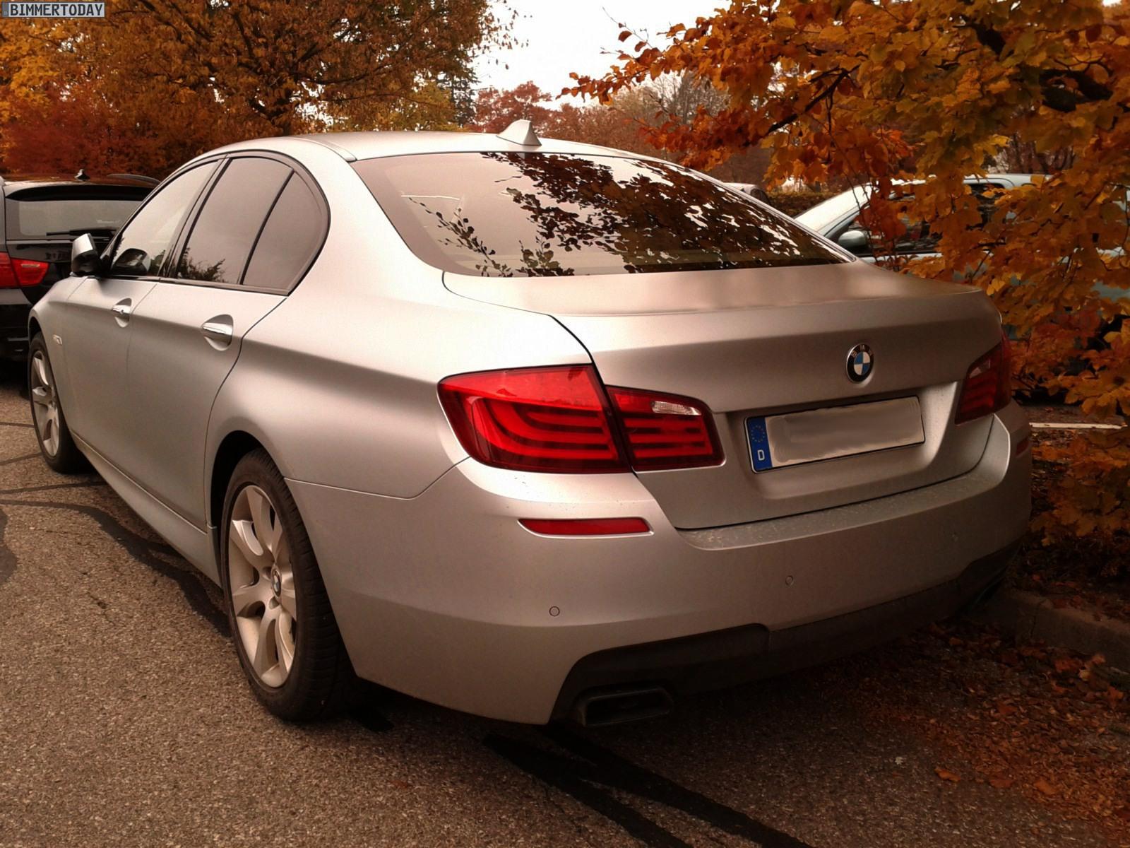BMW 550i F10 Frozen Silver 02