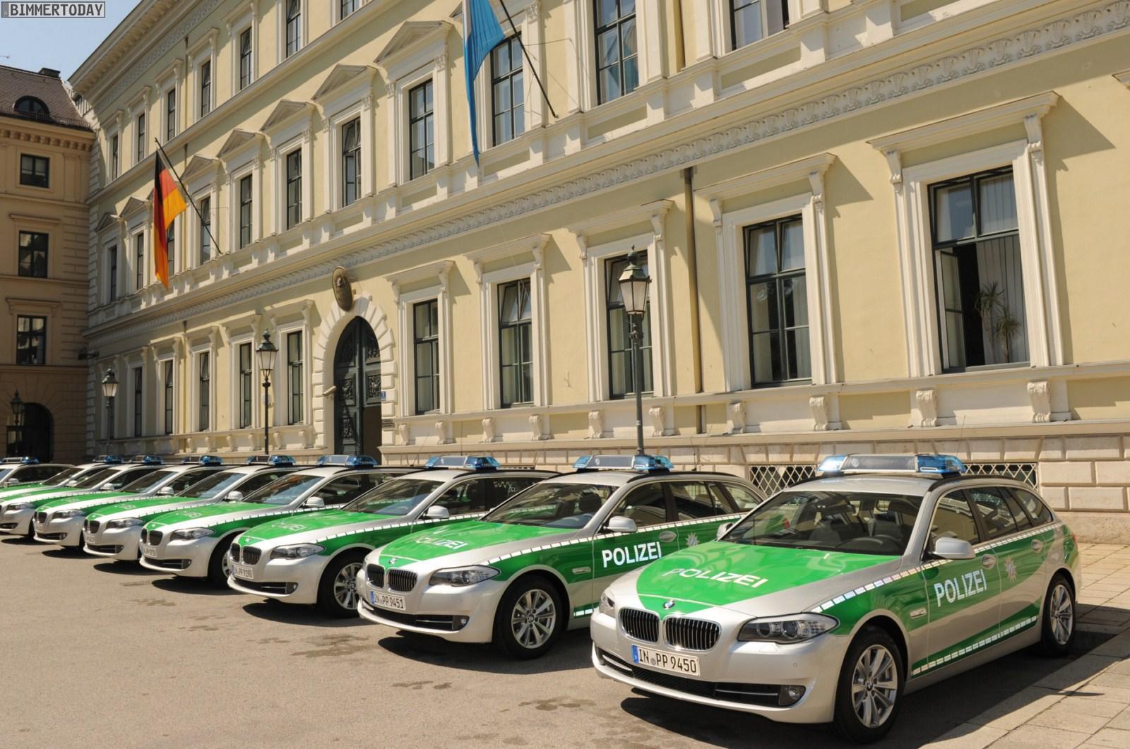 BMW 5er Touring F11 Polizei Muenchen 02