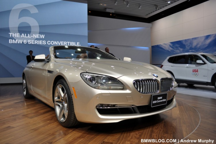 BMW 6 SERIES DETROIT SHOW 9 750x500