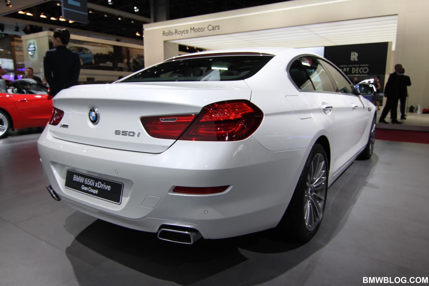 BMW 650i Gran Coupe 07