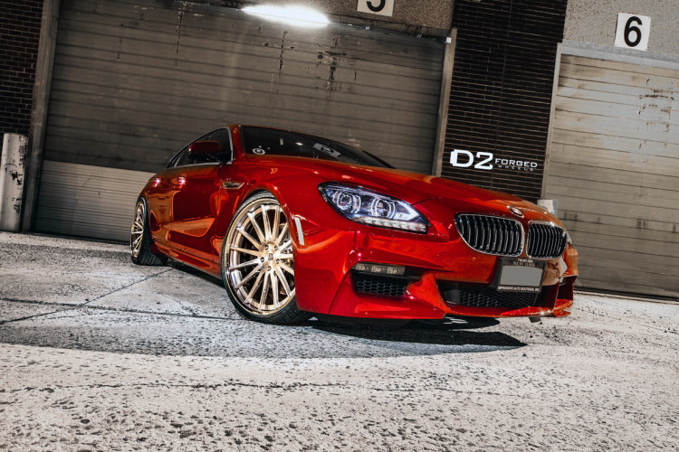 BMW 650i Gran Coupe D2FORGED CV15 Wheels 01 750x500