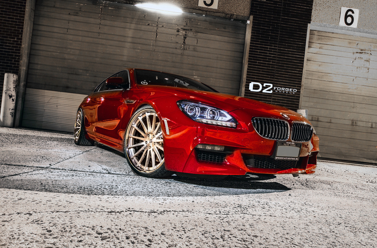 BMW 650i Gran Coupe D2FORGED CV15 Wheels 01