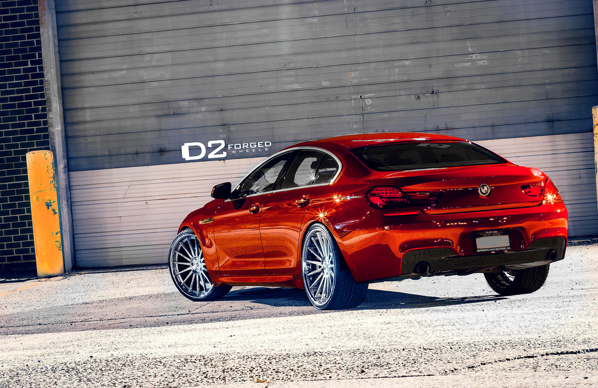 Bmw 6 Series Gran Coupe With D2forged Cv15 Wheels
