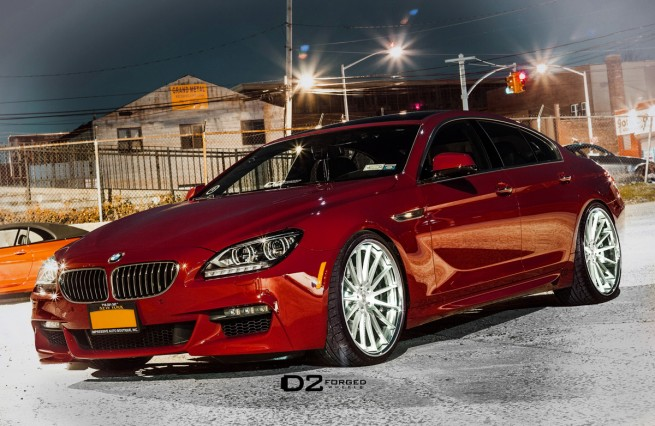 BMW 650i Gran Coupe D2FORGED CV15 Wheels 09 655x426