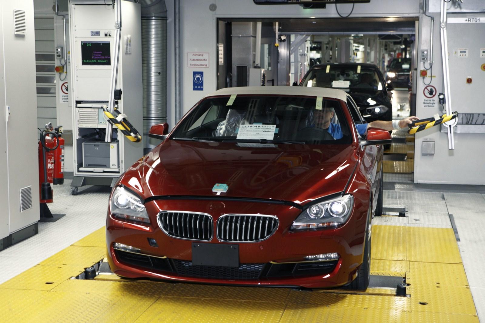 BMW 6er Cabrio F12 Produktion Dingolfing 14