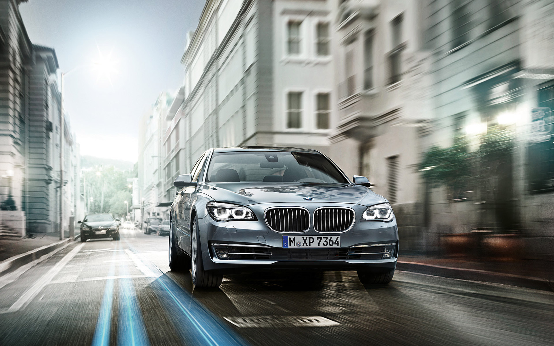 BMW European Delivery >> Wallpapers: 2013 BMW ActiveHybrid 7
