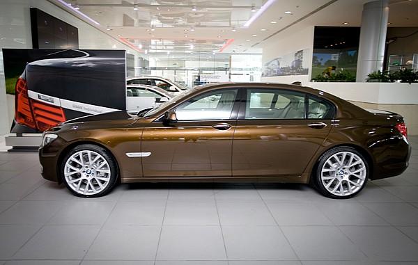 BMW 7 Series UAE Anniversary edition 1
