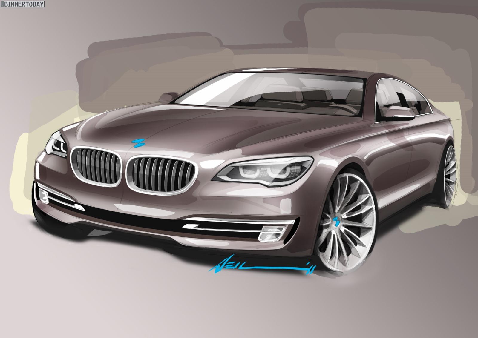 BMW 7er Facelift 2012 F01 LCI Design1