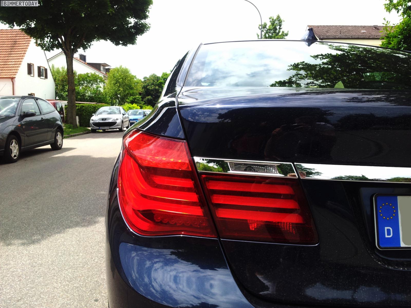 BMW 7er Facelift 2012 F01 LCI ungetarnt Werkstestwagen 06