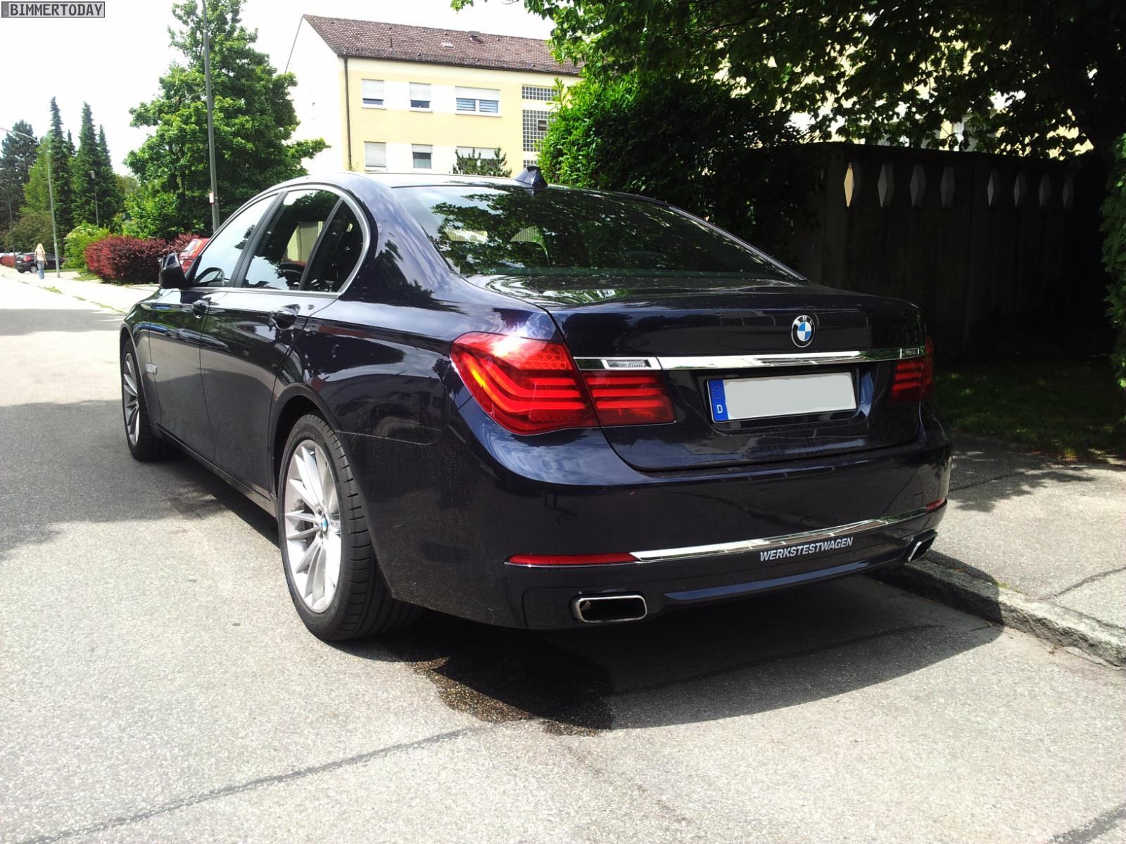 BMW 7er Facelift 2012 F01 LCI ungetarnt Werkstestwagen 07