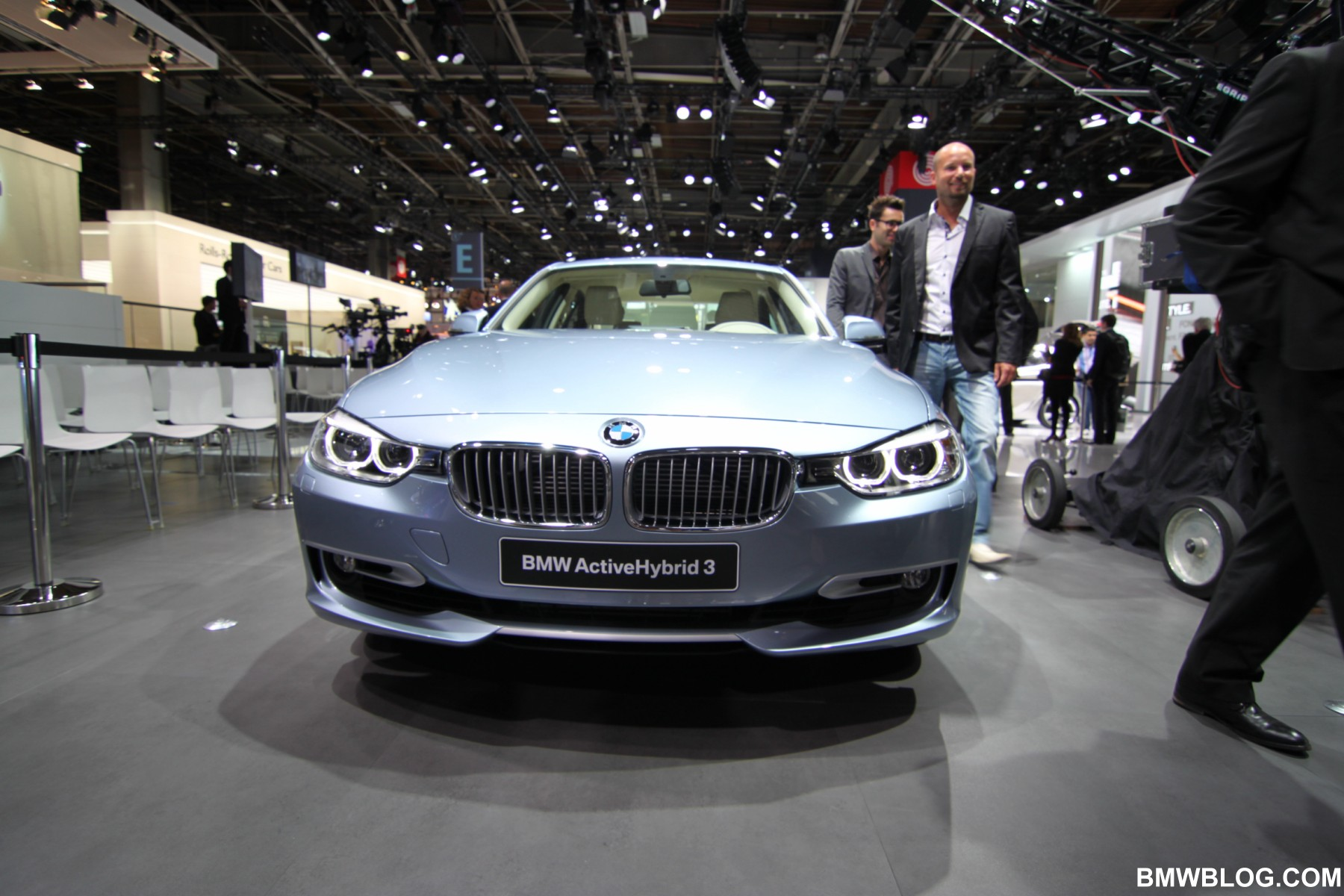 bmw activehybrid 3 at the 2012 paris motor show. Black Bedroom Furniture Sets. Home Design Ideas