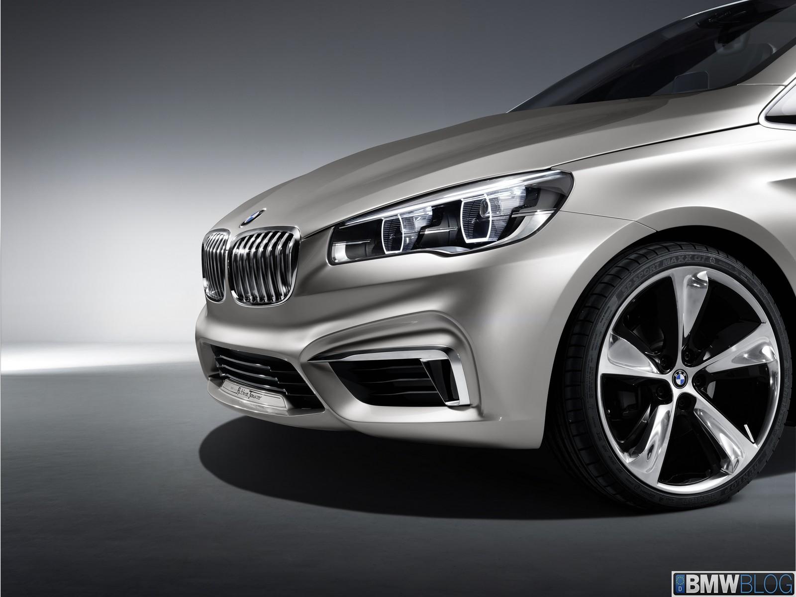 BMW Active Tourer Concept Exterior 121