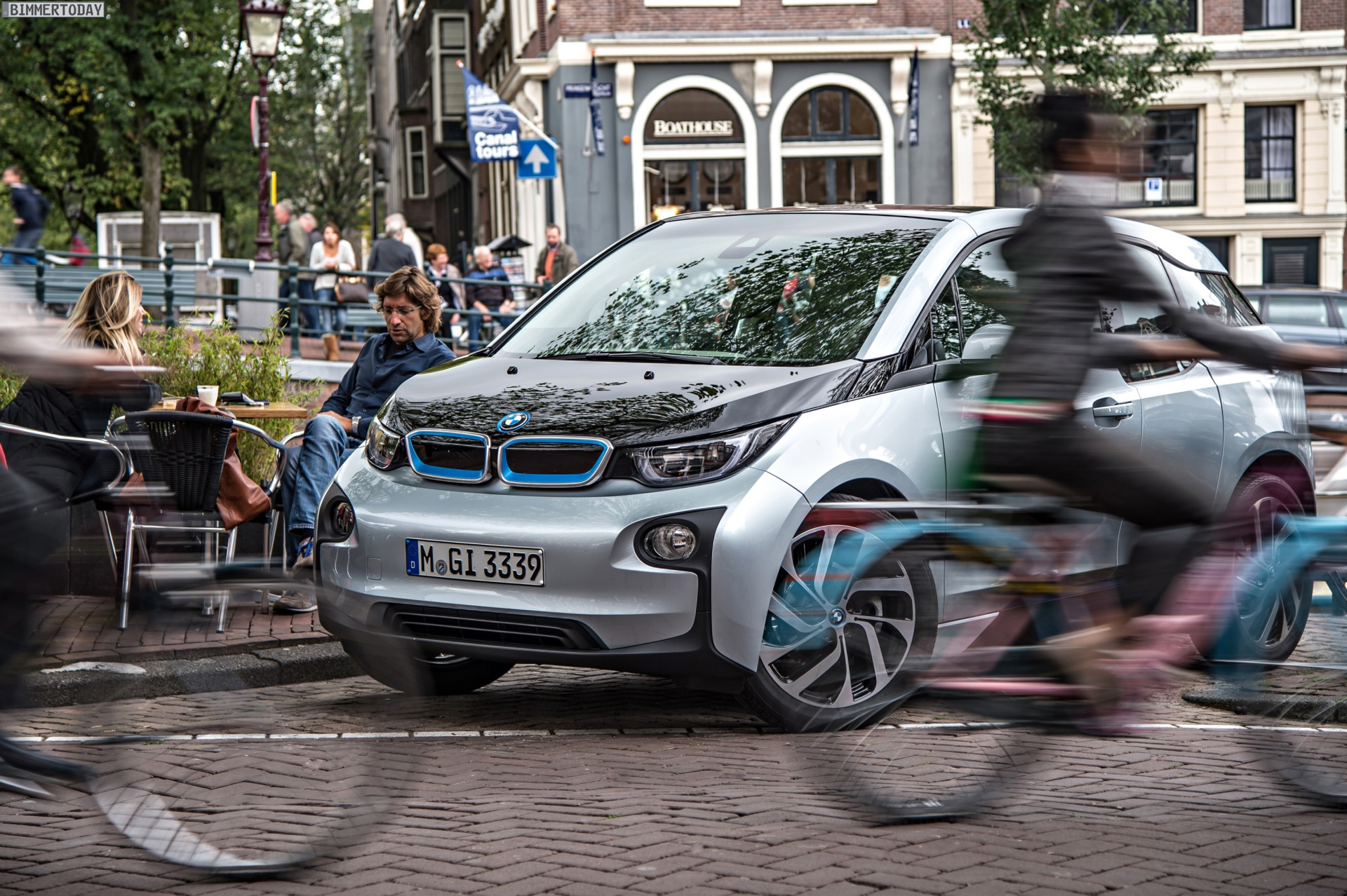 Audible Pedestrian Protection Artificial Sound For Bmw I3 And I8