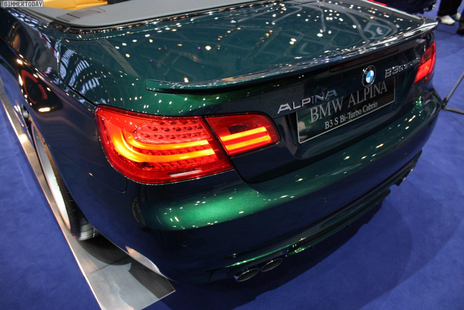 BMW Alpina B3S Biturbo Cabrio Genf 2011 12