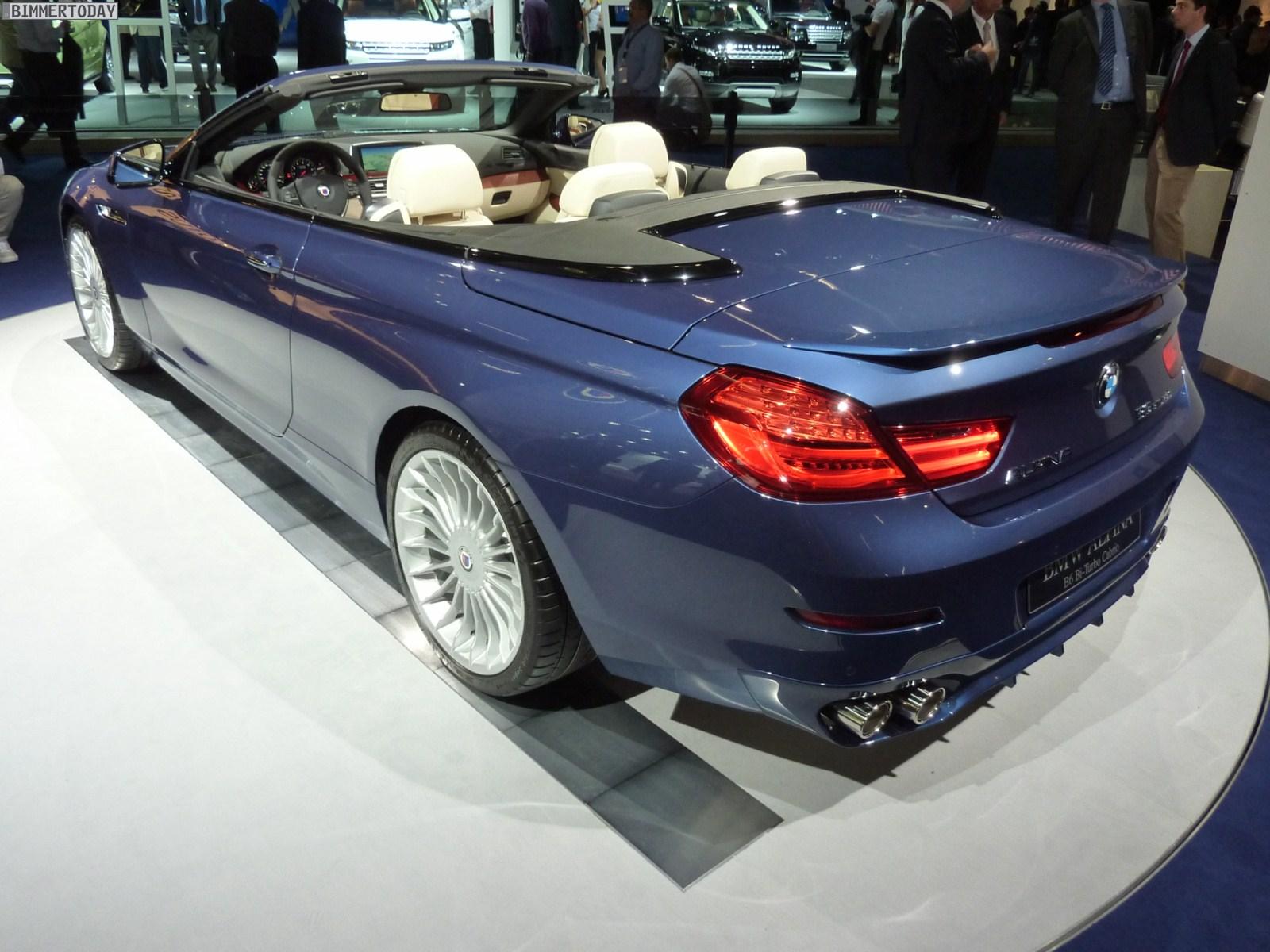 BMW Alpina B6 Biturbo Cabrio F12 IAA 2011 01