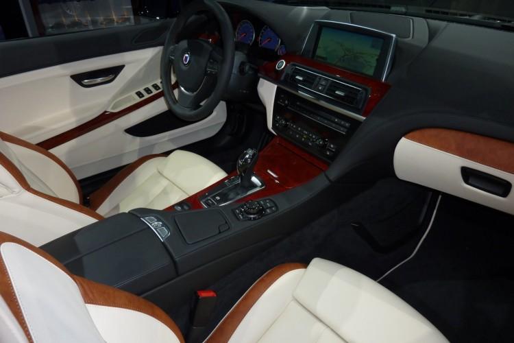 BMW Alpina B6 Biturbo Cabrio F12 IAA 2011 Interieur 01 750x500
