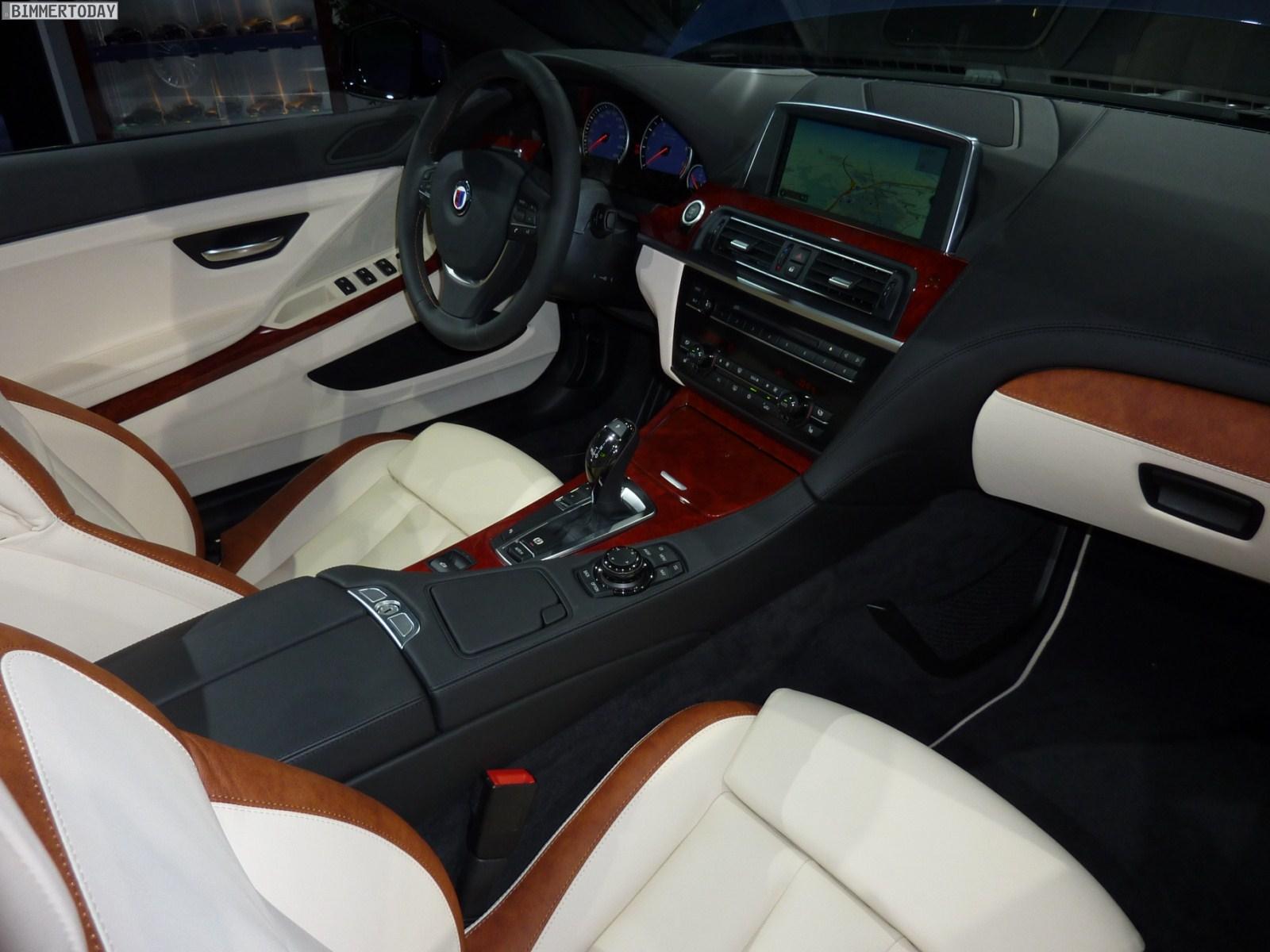 BMW Alpina B6 Biturbo Cabrio F12 IAA 2011 Interieur 01