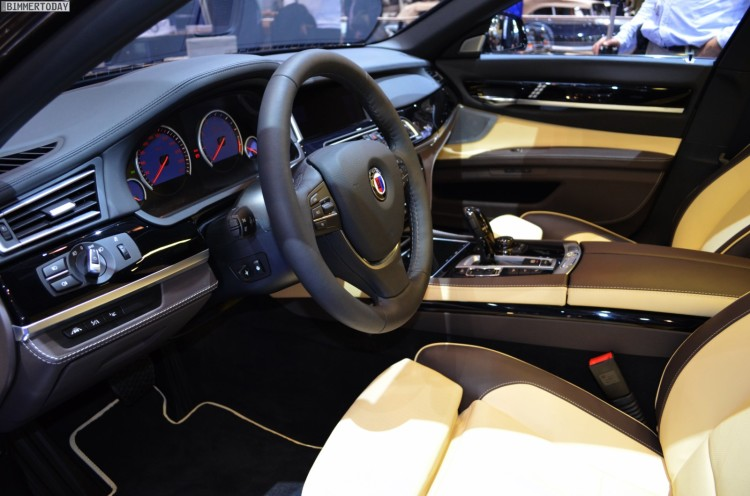 BMW Alpina B7 Biturbo Langversion F02 LCI Genfer Autosalon 2013 01 750x496