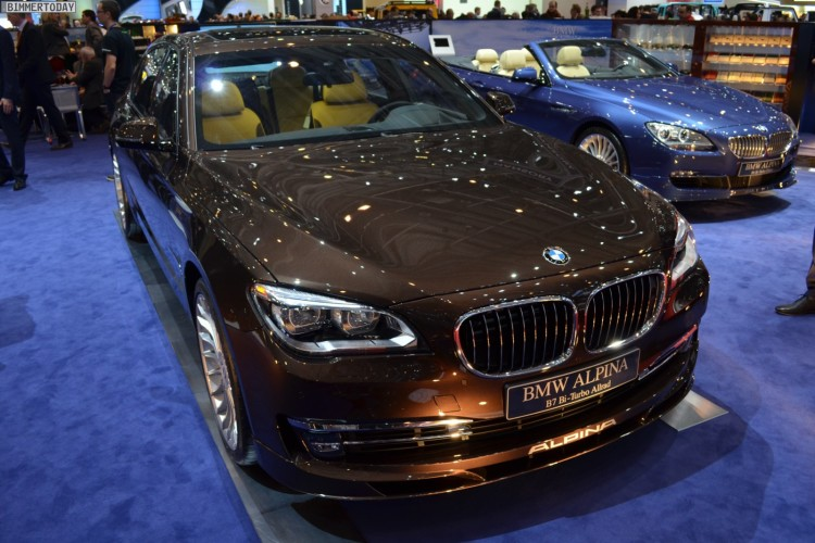 BMW Alpina B7 Biturbo Langversion F02 LCI Genfer Autosalon 2013 06 750x500