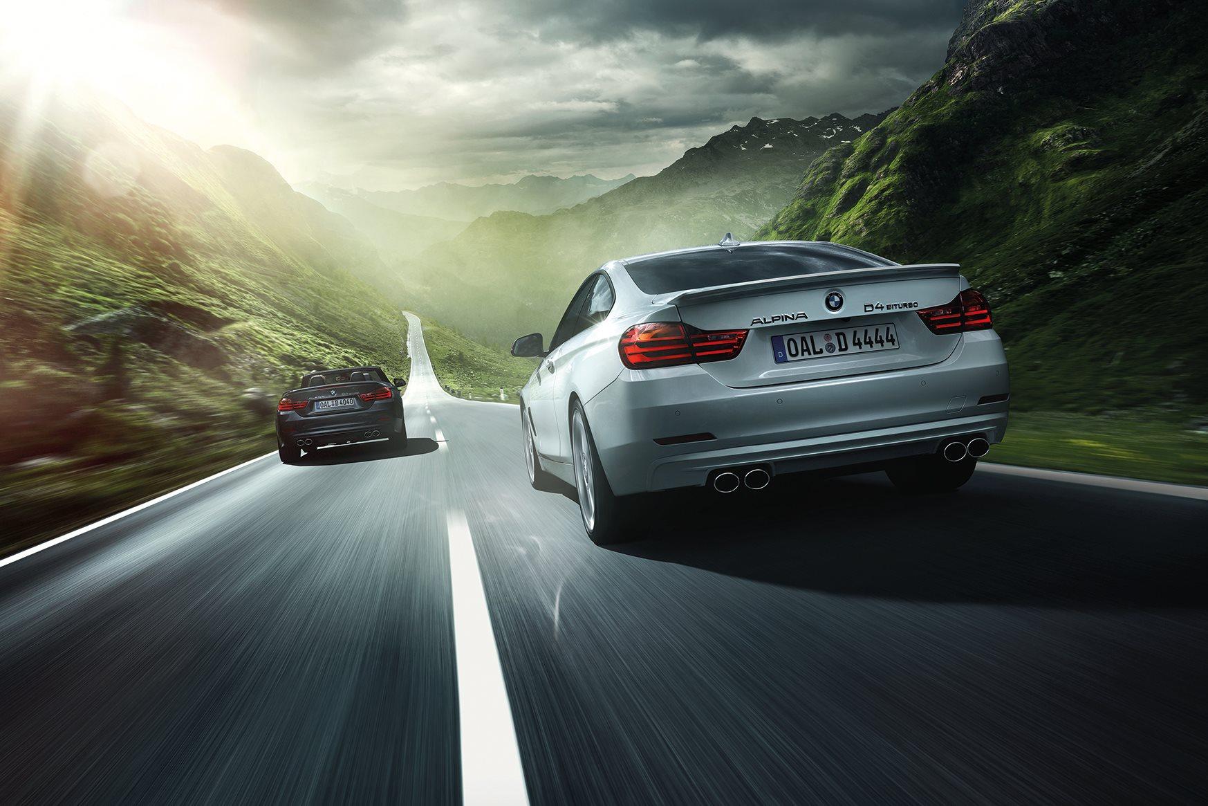 BMW Alpina D4 Cabrio F33 und Coupe F32 Biturbo Diesel Preis