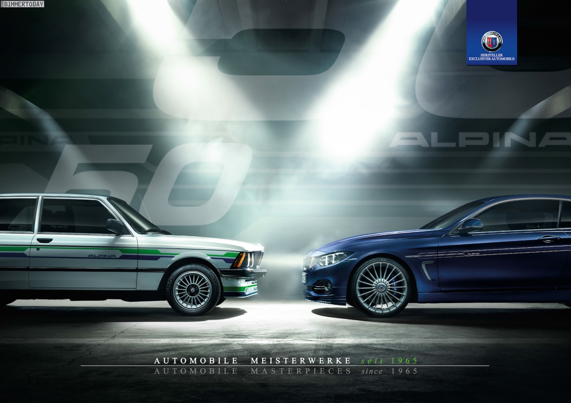 Alpina Calendar 2015 50 Years Of Perfection In 12 Designs