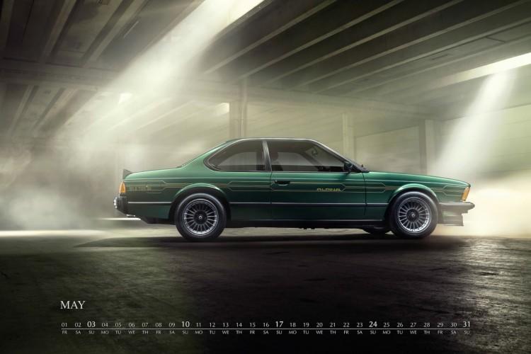 BMW Alpina Kalender 2015 Jubilaeum 50 Jahre Alpina Automobile 02 750x500