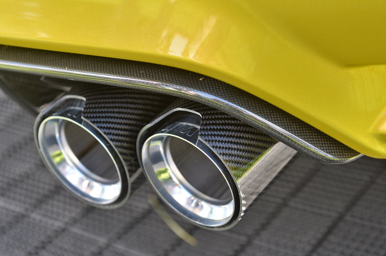 BMW Concept M4 exhaust tips pebble beach launch 15